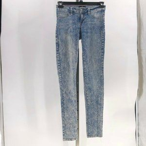cello jeans acid washed skinny sz 5